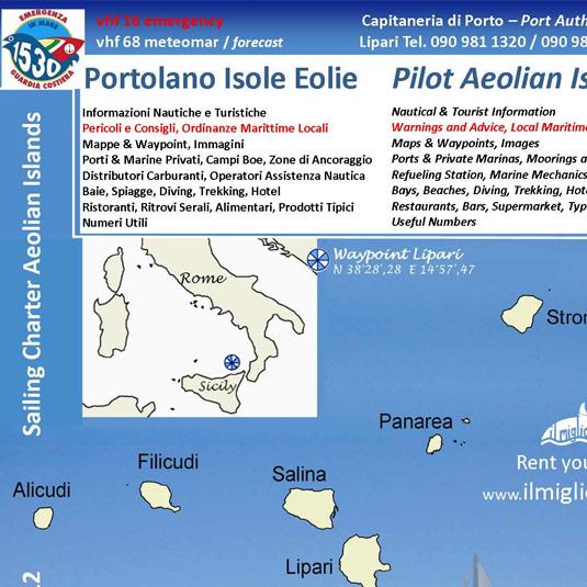 Portolano Isole Eolie