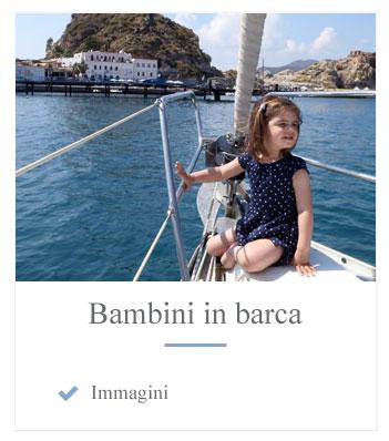immagini bambini in barca