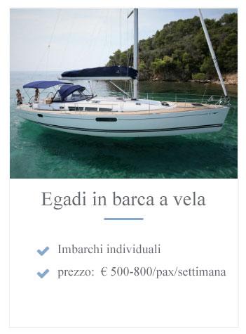Egadi barca a vela