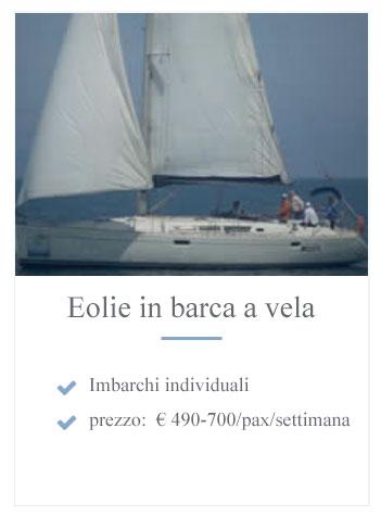 Eolie barca a vela