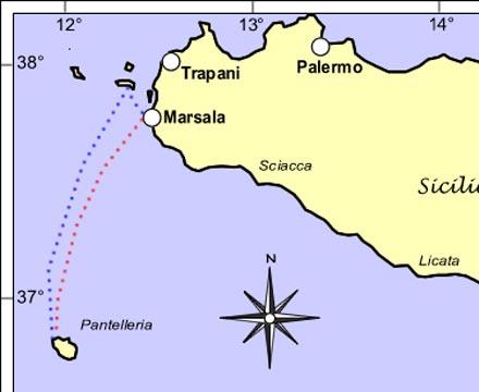Itinerario 2 Marsala Pantelleria