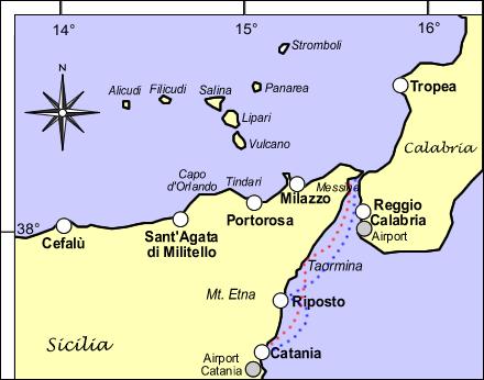 Catania Lampedusa