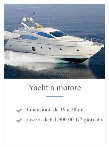 Yacht a motore