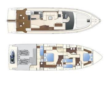 Barca a motore a noleggio FERRETTI 630 – BE QUIET-