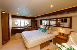 Cabina VIP FERRETTI 630 – BE QUIET-